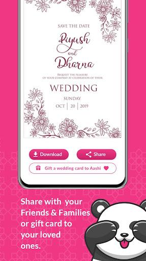 Shaadi & Engagement Card Maker by Invitation Panda 2.0.22 Screenshots 6