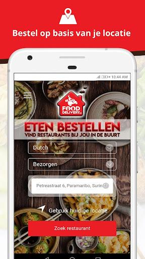 FoodDelivery.sr -Online eten bestellen in Suriname  Screenshots 1