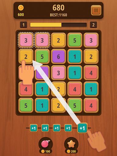 Mergezilla - Number Puzzle Apkfinish screenshots 7