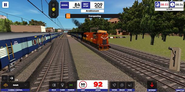 Baixar Indian Train Simulator MOD APK 2020.4.16 – {Versão atualizada} 3
