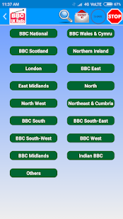 All BBC Radio & UK Radio , Radio UK Live Stations