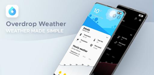 Overdrop Weather App Widget