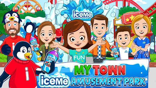 My Town : Fun Amusement Park Game for Kids Free screenshots 13