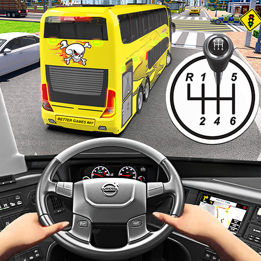 Baixar Bus Driving Simulator Games : Coach Parking School para Android
