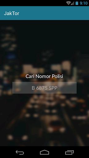 JakTor (Cek Nomor Polisi) 1.1 Screenshots 13