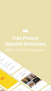 Picture Spanish Dictionary - 24 Languages 5M Pics