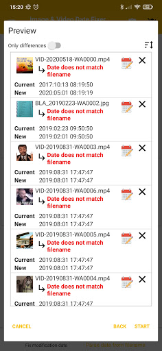 Image & Video Date Fixer