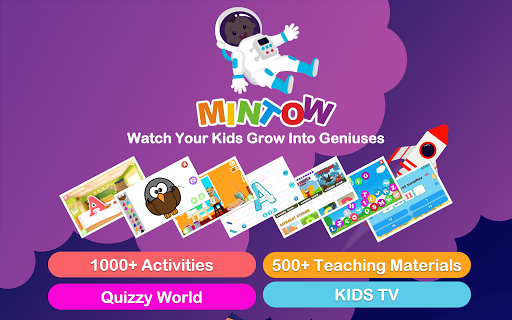 MINTOW: Kids Educational Games and Lessons apkpoly screenshots 10