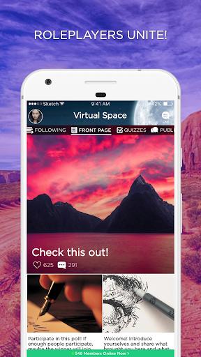 Virtual Space Amino - Geeks RP 3.4.33514 Screenshots 1