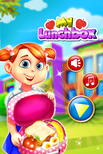 My LunchBox - School Kids Cooking Game apkmartins screenshots 1