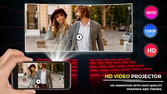 Image For HD Video Projector Simulator - Video Projector HD Versi 1.1 1