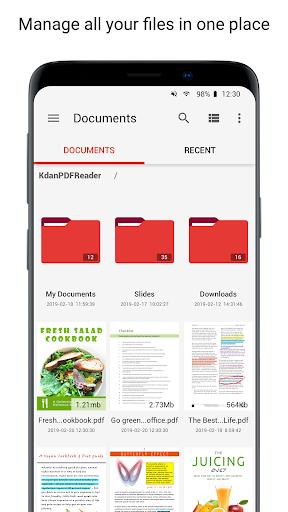 PDF Reader - Sign, Scan, Edit & Share PDF Document screenshots 3