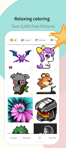 Pixel.Unicorn: Pixel Art Color By Number 11.0.0 screenshots 1