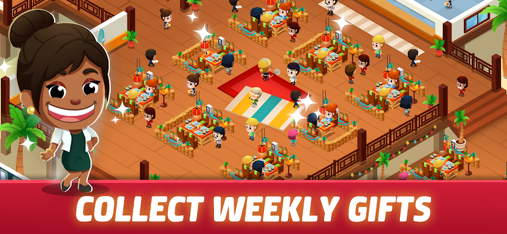 Idle Restaurant Tycoon - Cooking Restaurant Empire  poster 2