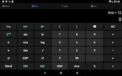 screenshot of All-in-one Calculator