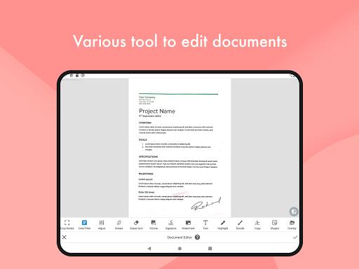 Document Scanner - (Made in India) PDF Creator Apkfinish screenshots 13