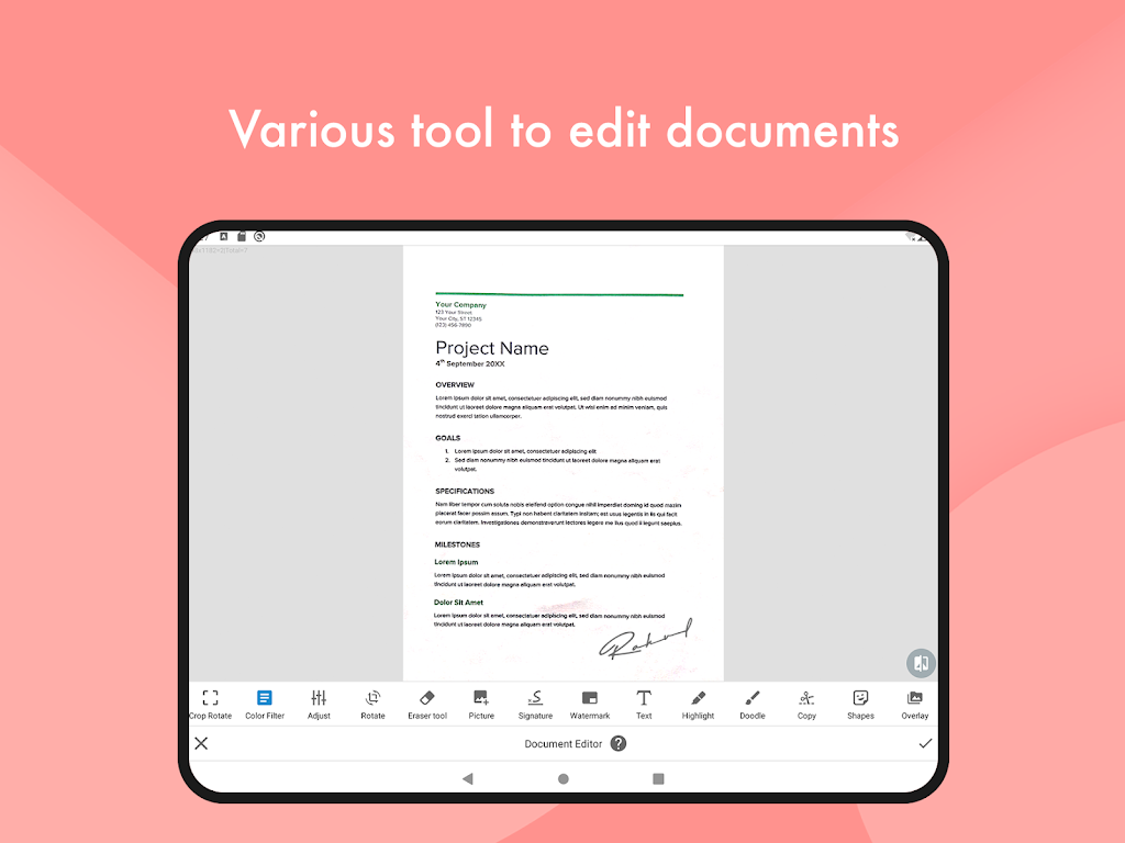 Document Scanner - (Made in India) PDF Creator  poster 12