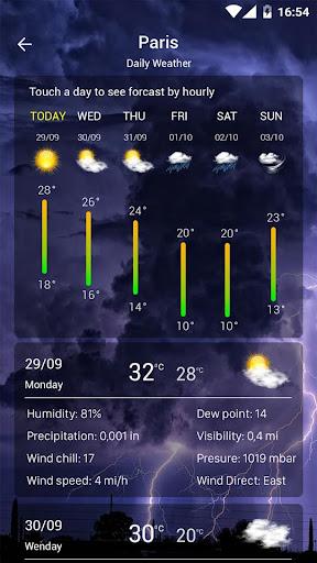 Weather forecast  Screenshots 3