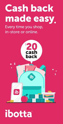 Ibotta: Cash Back Savings, Rewards & Coupons App apktram screenshots 1