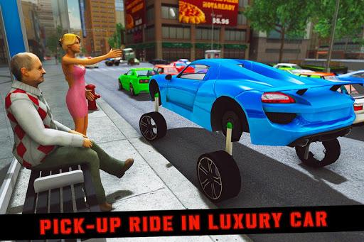 Elevated Car Racing Speed Driving Parking Game apktram screenshots 10
