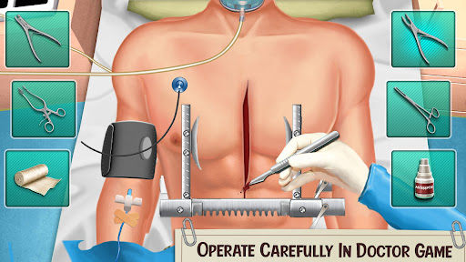Doctor Surgery Games- Emergency Hospital New Games screenshots 15