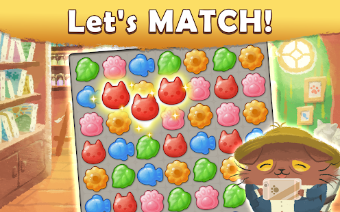 Cats Atelier -  A Meow Match 3 Game Screenshot
