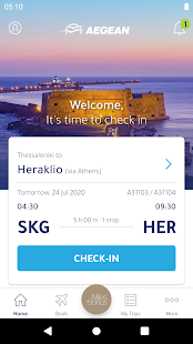 Aegean Airlines Screenshot