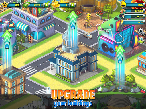 Town Building Games: Tropic City Construction Game 1.2.17 Screenshots 11