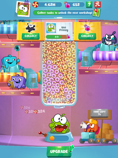 Om Nom Idle Candy Factory modavailable screenshots 4