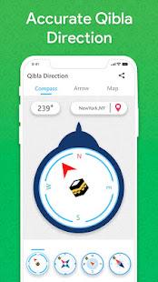 Qibla Finder: Find 100% Accurate Qibla Direction 2.5 Screenshots 9