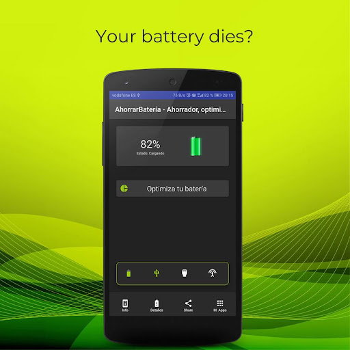 🔋 batterysaver - save and optimize your battery screenshot 1
