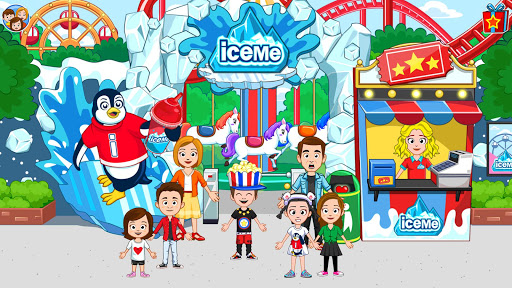 My Town : Fun Amusement Park Game for Kids Free screenshots 12