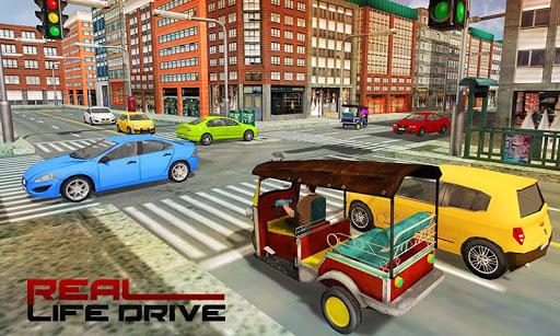 Tourist Transport Taxi: Tuk Tuk Driving Simulator  screenshots 2