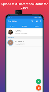 Bharti Chat – Chats, Groups, Video and voice calls 5