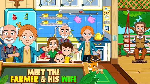 My Town : Farm Life Animals Game  for Kids Free 1.07 screenshots 8