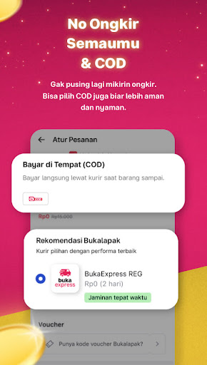 Bukalapak - No Ongkir Semaumu apktram screenshots 5