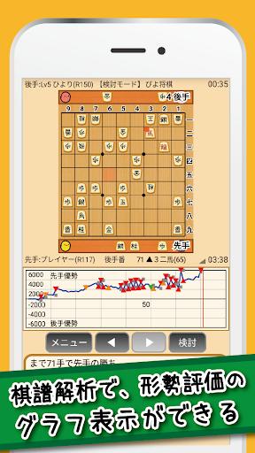 u3074u3088u5c06u68cb - uff14uff10u30ecu30d9u30ebu3067u521du5fc3u8005u304bu3089u9ad8u6bb5u8005u307eu3067u697du3057u3081u308bu30fbu7121u6599u306eu9ad8u6a5fu80fdu5c06u68cbu30a2u30d7u30ea 4.4.8 screenshots 2