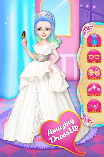 Little Princess Magical Braid updo Hairstyle Salon  screenshots 1