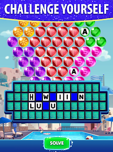 Bubble Pop: Wheel of Fortune! Puzzle Word Shooter Apkfinish screenshots 8