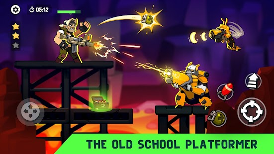 Bombastic Brothers - Top Squad.2D Action shooter. Screenshot
