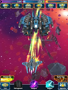 Idle Space Clicker MOD APK 1.9.0 (God Mode, OneHit) 10