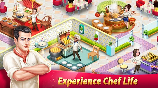 Tasty Cooking Cafe & Restaurant Game: Star Chef 2 1