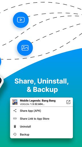 Share Apps - APK Transfer, App Sharing & Backup  Screenshots 3