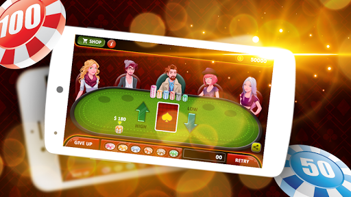 7 Up & 7 Down Poker Game 1.4 screenshots 2