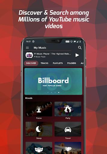 Pi Music Player - Free Music Player, YouTube Music  Screenshots 1