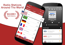 screenshot of FM Radio: Live Radio, AM / FM Simple Radio App