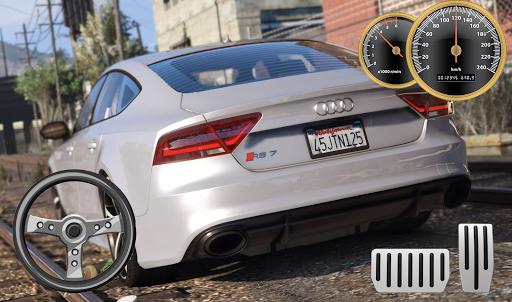 Drive Audi RS7 - City & Parking apkdebit screenshots 3