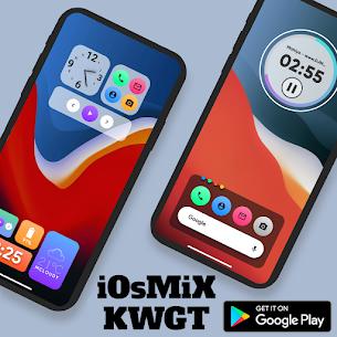 iOsMiX KWGT (MOD APK, Paid) v15.0 1