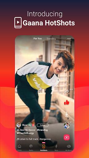 Gaana Song Hotshots Video Music Free Hindi MP3 App 8.7.4 Screenshots 2