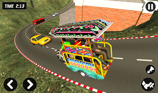Chingchi Rickshaw Game:Tuk Tuk Parking Simulator screenshots 6